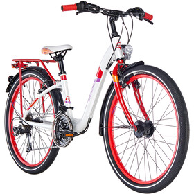 s'cool chiX 24 21-S alloy White/Red